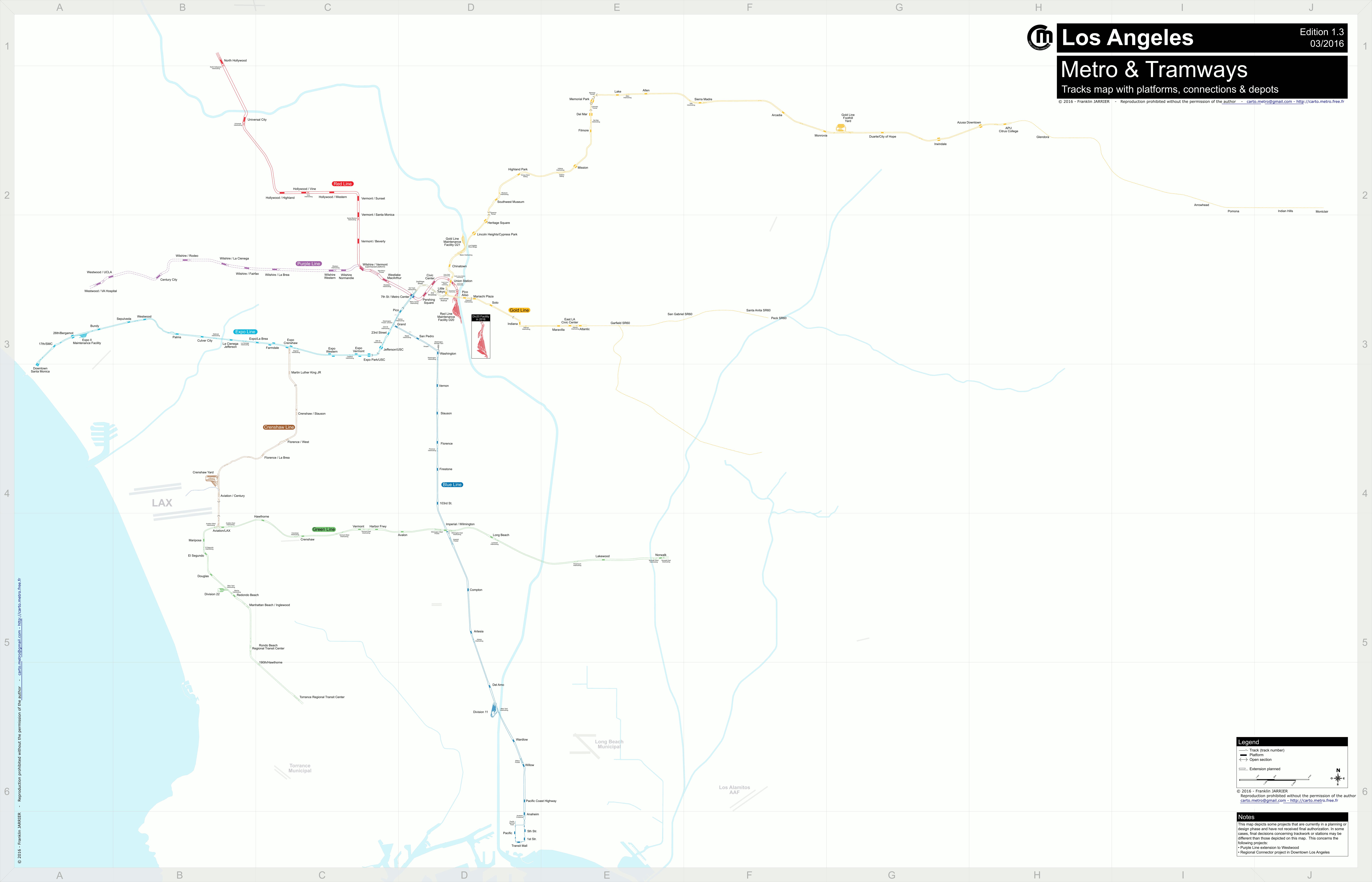 Detailled Tracks Map Paris Lyon Lausanne Milan Turin Tracks Maps