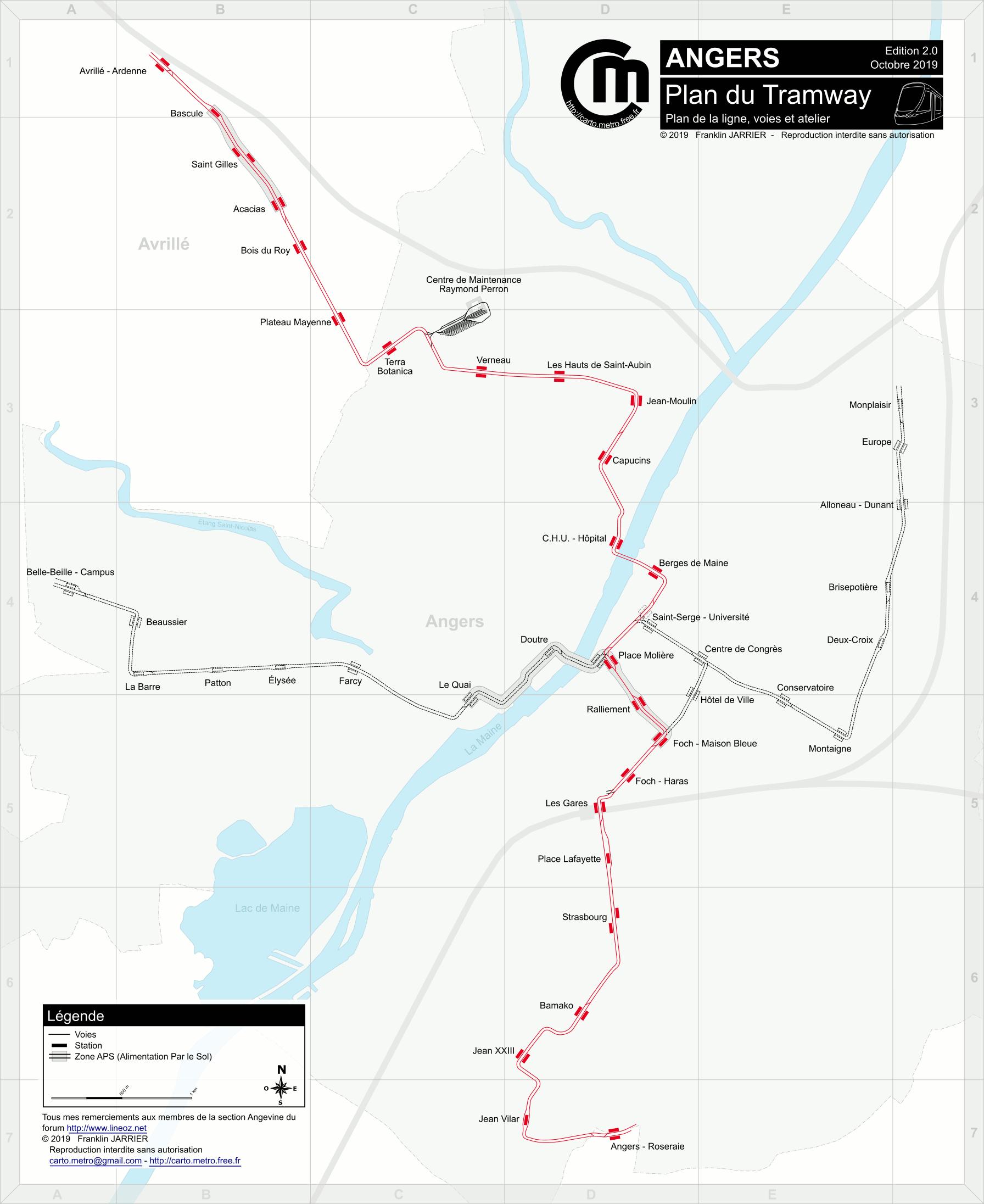 Detailled Tracks map - Paris, Lyon, Lausanne, Milan, Turin ...