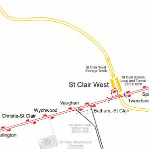 Toronto Subway Map Pdf.Detailled Toronto Transport Map Track Depot