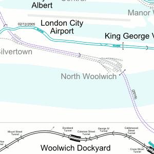 London Line Map.Detailled London Transport Map Track Depot